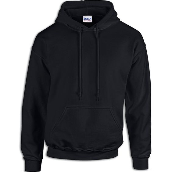 Buy a Black Hoodie from Pro-Tuff Decals.  Both feature pill resistant Air Jet spun yarn. Two-ply hood with matching drawstring.