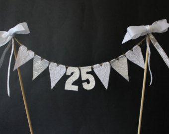50th Golden Wedding Anniversary cake topper cake by SoLuvli