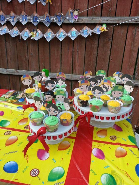 El chavo del ocho cakes: