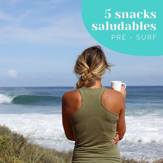 5 snacks saludables pre-surf