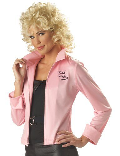 Grease Pink Lady Costumes | Satin, Satin jackets and Cute dresses