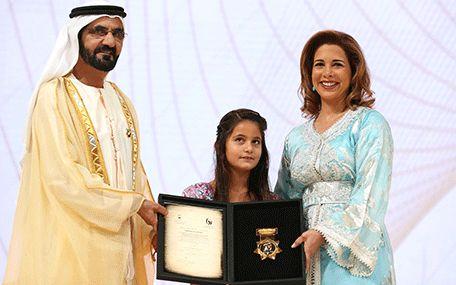 La Cour Royale de Dubai: La famille souverain de Dubai au Prix du Sport
