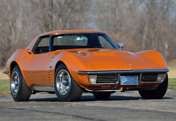 1971 Chevrolet Corvette Ontario Orange 987 Chevrolet Corvette Corvette Chevrolet Corvette Stingray