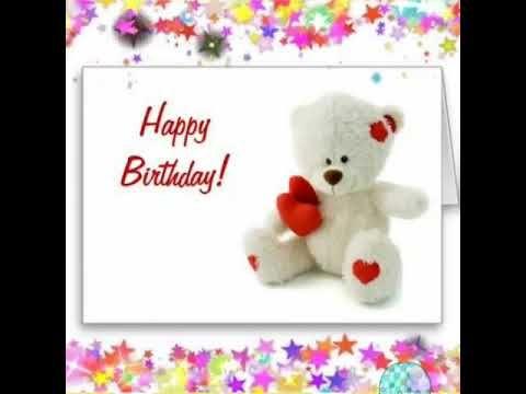 Teddy Happy Birthday Video Whatsapp Status Video Youtube