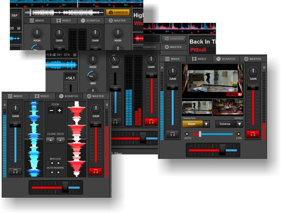 VirtualDj CENTRAL PANELS Screenshot