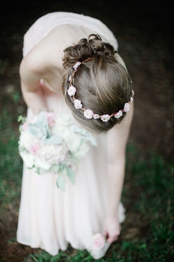 Romantic Pink Bridesmaid Style | Charlotte Botanical Gardens Wedding