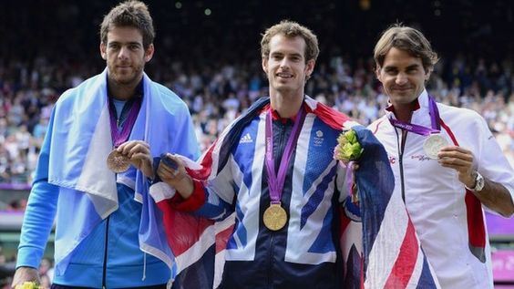 Andy Murray captured the biggest title of his career with an emphatic victory over Roger Federer in the Olympic men's singles final at Wimbledon. Murray beat the Swiss world number one in straight sets, 6-2 6-1 6-4, on a raucous Centre Court.