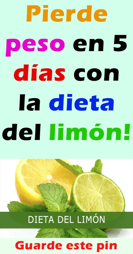 Dieta del limon es efectiva