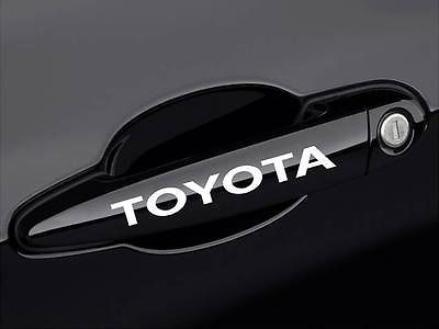 TOYOTA Camry Corolla Supra Tacoma Tundra Door Handle Decal sticker emblem logo♦️ B E S T Online Marketplace - SaleVenue ♦️👉🏿 http://www.salevenue.co.uk/products/toyota-camry-corolla-supra-tacoma-tundra-door-handle-decal-sticker-emblem-logo/ US $0.30