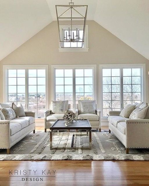 Darlana Extra Large Lantern Vaulted Ceiling Living Room Cathedral Ceiling Living Room Vaulted Living Rooms