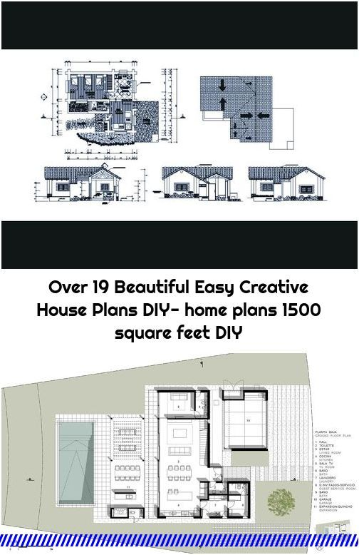 Over 19 Beautiful Easy Creative House Plans Diy Home Plans 1500 Square Feet Diy House Plans Building Plan Crochet Home Decor