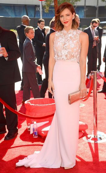 Katharine McPhee in Georges Hobeika at the Creative Arts Emmys