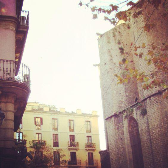 Plaça del Pi, Bcn :___