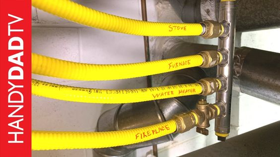 Diy Fireplace Installation Hot To Install A Natural Gas Line Diy Fireplace Installation Gas