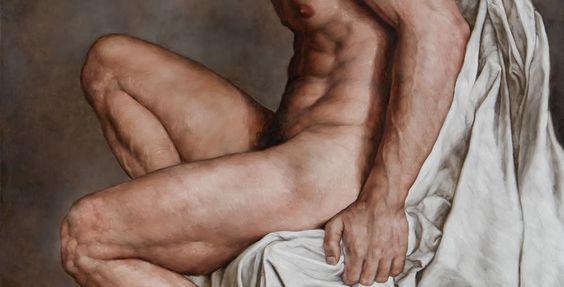 Nude Male Figure. By Giorgio Dante