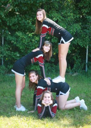 how do it on  stunts cheer and friends