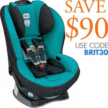 The sleek and stylish Britax Boulevard Convertible Car Seat G4 with True Side Impact Technology provides extraordinary safety features to protect your little one. It features SafeCell Technology, integrated steel bars, an Energy Absorbing Versa-Tether and much more. www.rightstart.com. SALE PRICE: $256.00