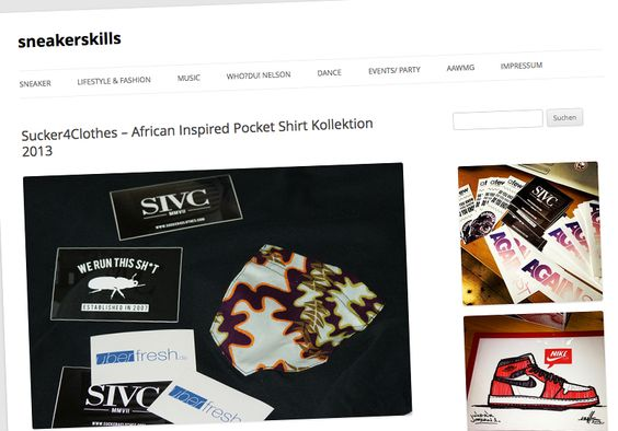 SIVC 'King of Africa' Pocket T-Shirt Collection (sneakerskills Preview)