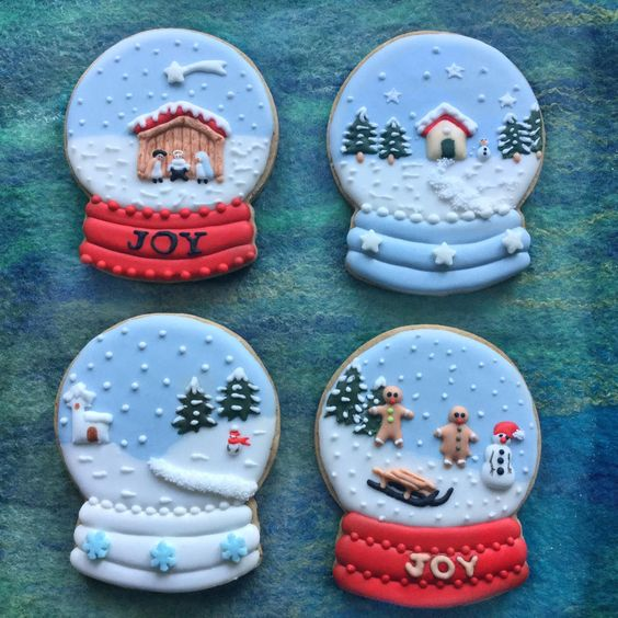 Christmas Snowglobes: