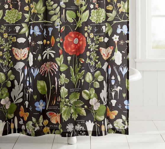 Ruffle Shower Curtain Potterybarn In White Ordering Dang It