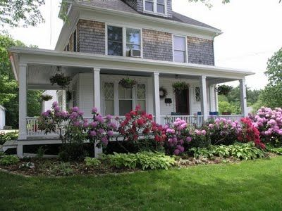 porches wih flowers - Bing Images