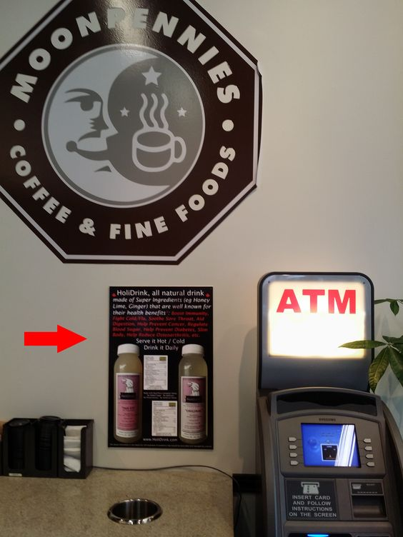 HoliDrink is now available for purchase at MoonPennies Cafe, 1102 West Pender St Vancouver.