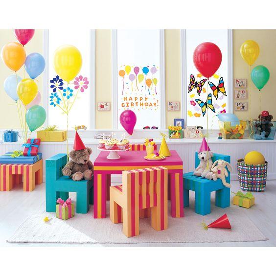 Offi EVA Kidsu0027 Foam Table And Chair Set In Red Orange | Preschool |  Pinterest