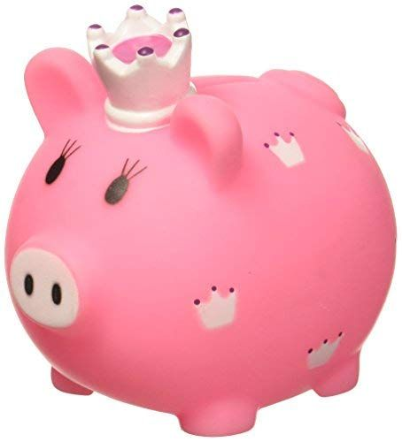 Md Wholesalers 793631698912 Piggy Bank Piggy Bank Little Princess Baby Gifts