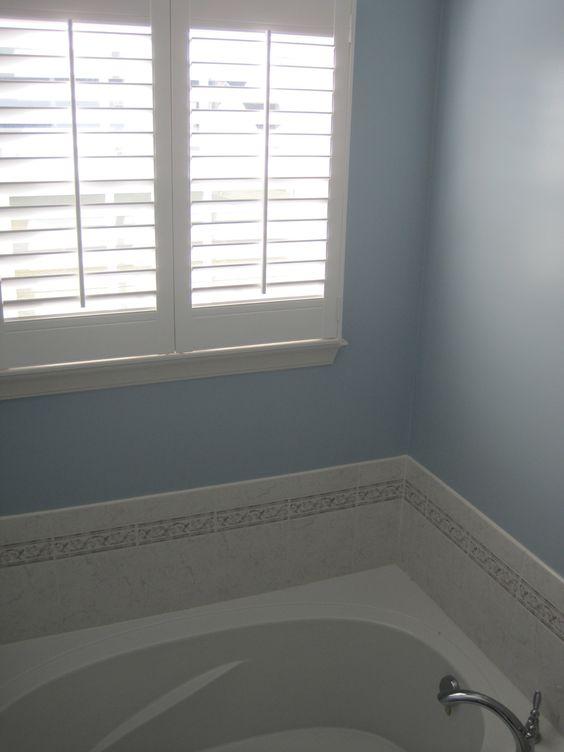 paint colors colors and blue bathrooms on pinterest. Black Bedroom Furniture Sets. Home Design Ideas