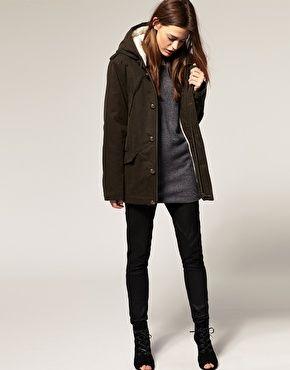 IRO Fleece Lined Parka With Hood | Coats | Pinterest | Hoods and