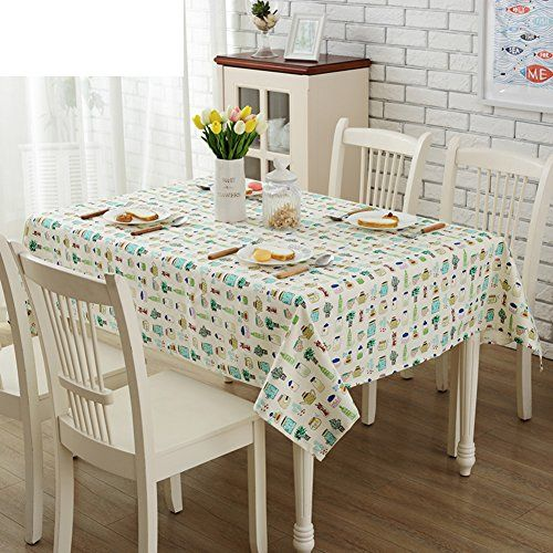 Cartoon Tablecloth Pastoral Cloth Table Simple And Modern Table Cloth Table Gabe B 140x200cm 55x79inch Modern Table Table Cool Furniture