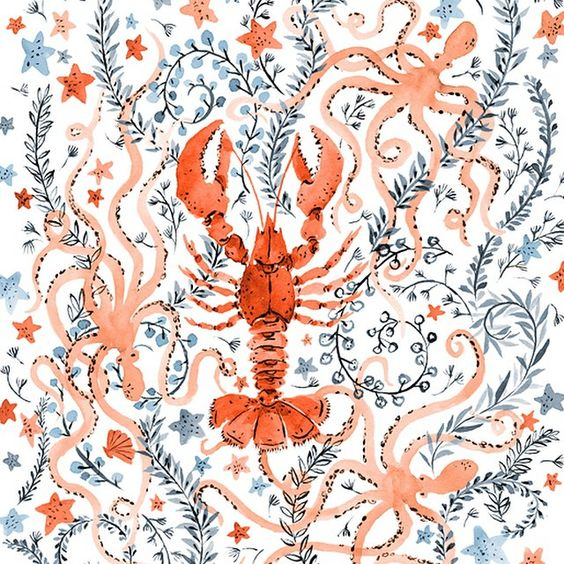 Vikki Chu - Lobster for the month of JulyFollow