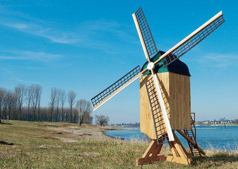 Eine Bockwindmühle aus dem 13. Jahrhundert ist wirklich schön anzusehen. Wir zeigen, wie du diese Windmühle für deinen Garten selbst nachbauen kannst - ganz easy dank unserer Bauanleitung.