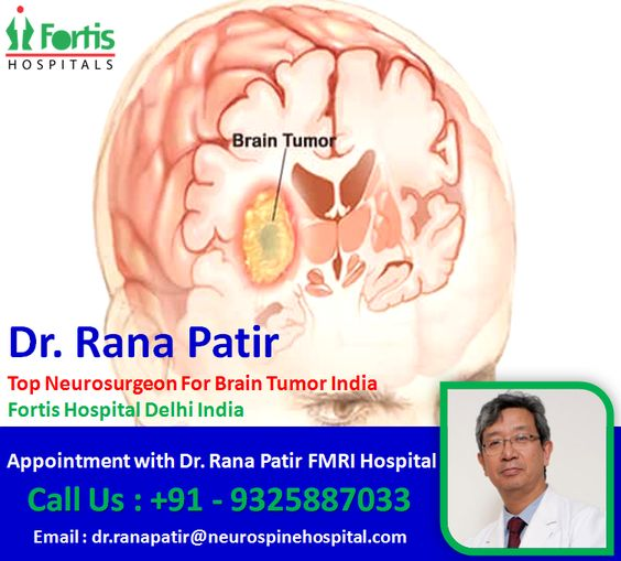Dr Rana Patir Best Brain Tumor Surgeon India