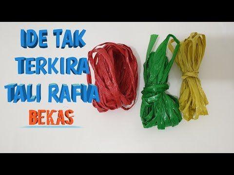 Ide Tak Terkira Dari Tali Rafia Bekas Yang Menakjubkan Youtube