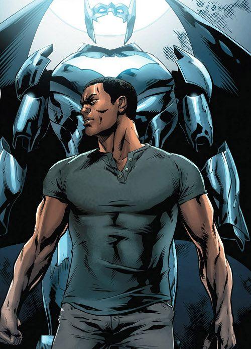 Iron Man + Batman = Batwing