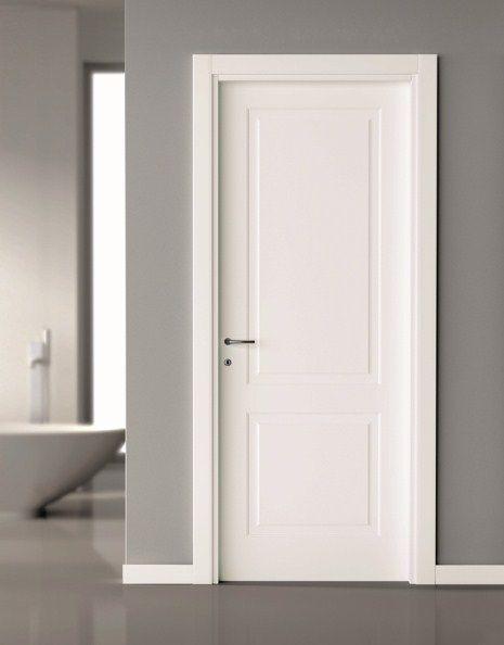 Add trim to plain door