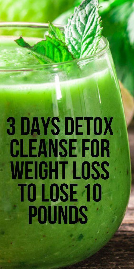 perte de poids nettoyer 3 jours