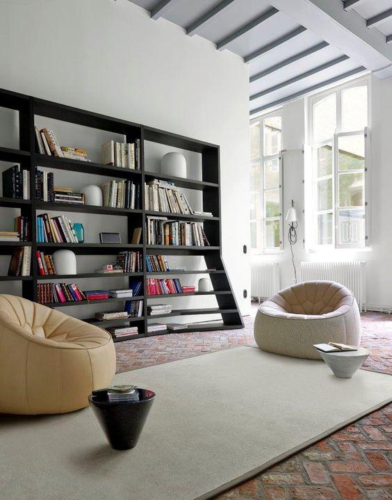 Ligne roset tolbiac introduces a 3rd dimension into the world of shelving uni - Bibliotheque ligne roset ...
