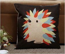 Cartoon Hedgehog Cushion Cover - 45x45cm