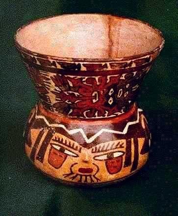 Cer Mica Nazca Pintada Con Engobes Pol Cromos Arcillas Y