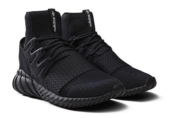 adidas Tubular Doom Primeknit Triple Black - Sneaker Bar Detroit