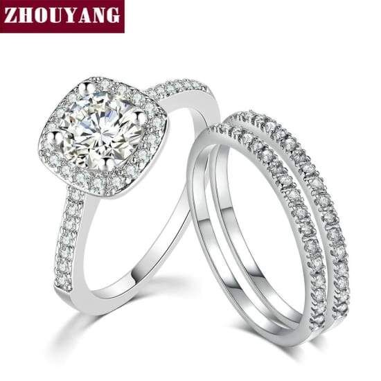 Silver Plated Infinity Endless Love Symbol Fashion Simple Rings Women Quality