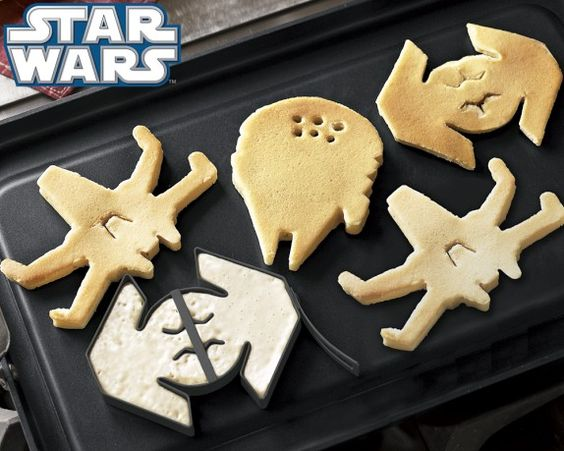Star Wars™ Vehicles Pancake Molds: