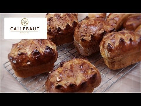 A chocolate pain au lait recipe with Callebaut chocolate from Richard Bertinet - YouTube