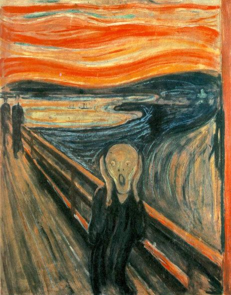 """Edvard Munch """"The Scream"""" sold at Sotheby's for record $119.9 million on 5/2/12"""