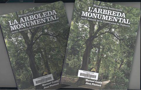 """Nou llibre de la col·lecció """"Monografies botàniques"""". Tracta sobre els arbres i altres plantes notables del nostre Jardí Botànic. inclou una fitxa descriptiva així com el plànol d'especies de l'arboretum. Consulta'l en Trobes.   #biblioteques_UVEG"""