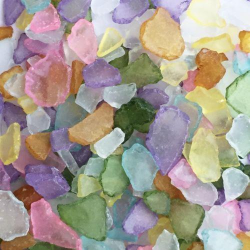 SEEGLAS-Glasscherben-Mosaikglas-Glas-Bruch-Ca-20-50mm-1-kg-Farben-GEMISCHT