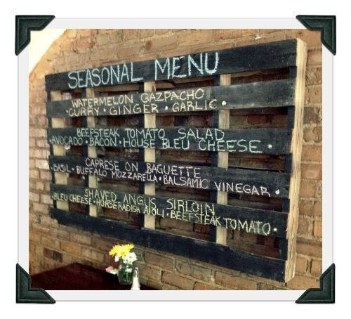 7 best ideas anuncio images on pinterest restaurant design business and chalkboard paint - Blue Restaurant Ideas
