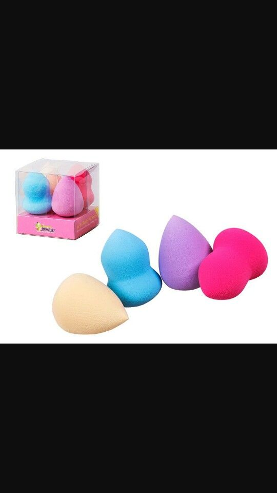 I like to use beauty blenders if i use any liquids. I bought mine from Amazon.com